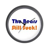 Bears Still Suck Wall Clock