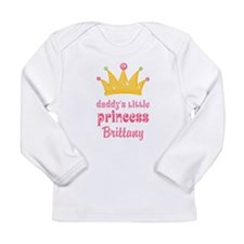 Personalized Daddys Little Princess Long Sleeve T-