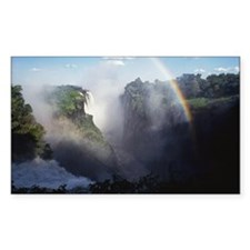 Rainbow at Victoria Falls Decal