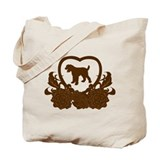 Black Russian Terrier Tote Bag