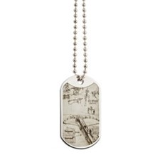 Da Vinci's crossbow Dog Tags