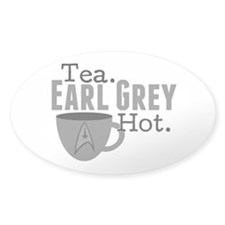 Tea Earl Grey Hot Decal