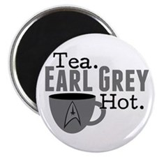 Tea Earl Grey Hot Magnet