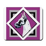 Harlequin Great Dane design Mousepad