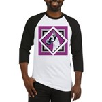 Harlequin Great Dane design Baseball Jersey