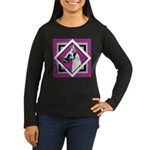 Harlequin Great Dane design Women's Long Sleeve Da