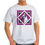 Harlequin Great Dane design Light T-Shirt