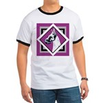 Harlequin Great Dane design Ringer T