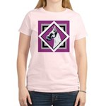 Harlequin Great Dane design Women's Light T-Shirt
