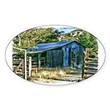 Tin Barn Landmark Decal