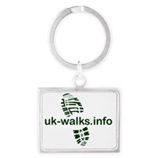 uk-walks logo Landscape Keychain