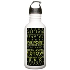 MARTA Gold Line Water Bottle