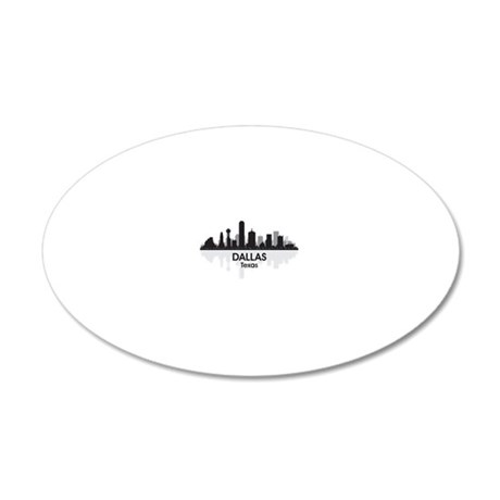 Dallas 20x12 Oval Wall Decal