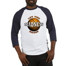 The Madness Begins Baseball Jersey