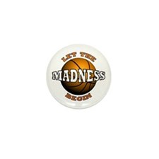 The Madness Begins Mini Button (100 pack)