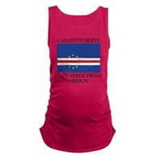 LDS Mission T-shirt - Cape Verd Maternity Tank Top