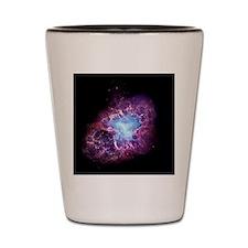 Crab nebula Shot Glass