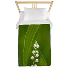 Convallaria majalis (Lily of the Valley Twin Duvet