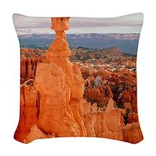 Bryce Canyon in Utah Woven Throw Pillow
