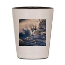 Breaking wave Shot Glass