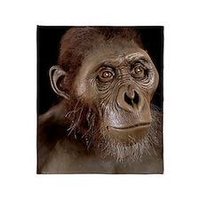Australopithecus afarensis Throw Blanket