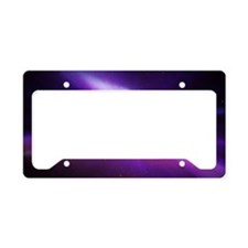 Aurora borealis License Plate Holder