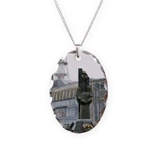 Chernobyl power station monume Necklace