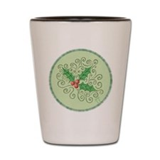 Simply Holly Shot Glass