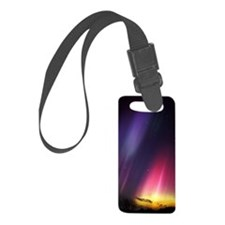 Aurora borealis Luggage Tag