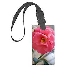 Camellia japonica Luggage Tag