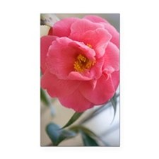 Camellia japonica Rectangle Car Magnet