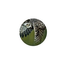 Burrowing owl Mini Button