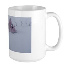 Antarctic field camp Mug