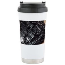 Anthracite coal Ceramic Travel Mug