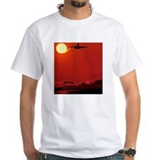 Boeing 747 taking off at sunset Shirt