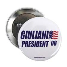 "Giuliani '08 2.25"" Button (100 pack)"