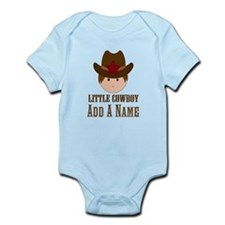 Personalized Little Cowboy Body Suit