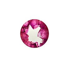 Amethyst crystals Mini Button