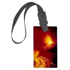 Alaid volcano erupting Luggage Tag