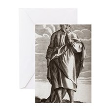 Antisthenes of Athens, Greek philoso Greeting Card