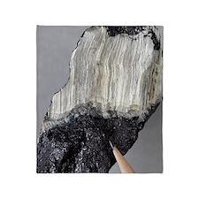 Asbestos mineral Throw Blanket