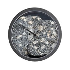 Anorthite in andesite Wall Clock