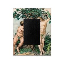1863 Adam and Eve from zoology textb Picture Frame