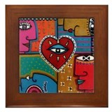 "Bickman ""All Seeing Eye"" Framed Tile"
