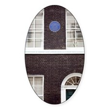 1839 Darwin's London Home reconstru Decal