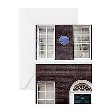1839 Darwin's London Home reconstruc Greeting Card