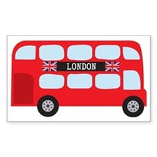 London Double-Decker Bus Decal