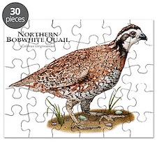 Northern Bobwhite Quail Puzzle