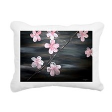 Cherry Blossom Rectangular Canvas Pillow