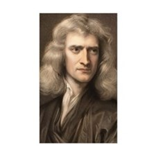 1689 Sir Isaac Newton portrait Decal